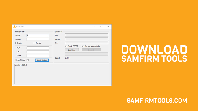 Download SamFirm v0.3.8